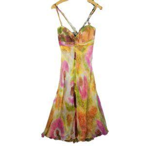 Morrell Maxie Cocktail Silk Dress 6
